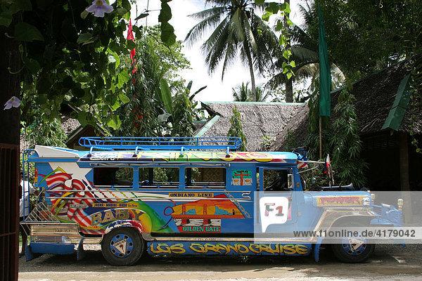 Jeepney auf Bohol  Philippinen