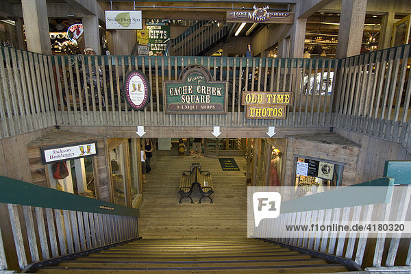 Indoor stores in Jackson  Wyoming  USA