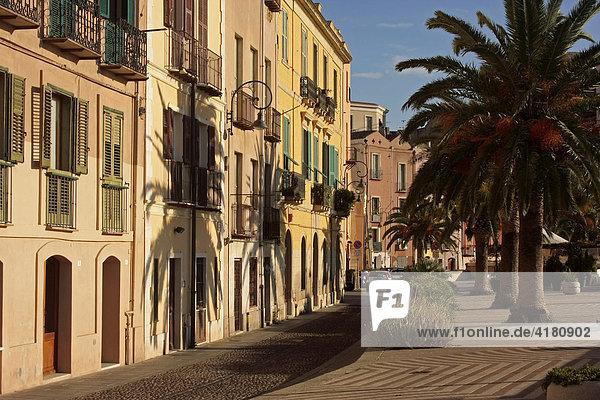 Altstadt Cagliari Sardinien Italien Europa