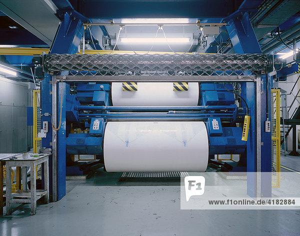 Druckmaschine für den Tiefdruck