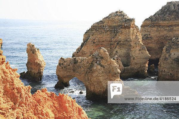 Praia da Piedade  Lagos  Algarve  Portugal