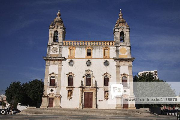 Igreja do Carmo  Carmelite church  Faro  Algarve  Portugal
