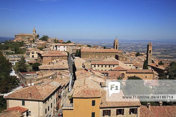 Montalcino  Siena  Tuscany  Italy