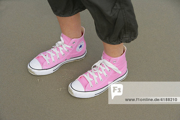 Chucks in pink Chucks in pink