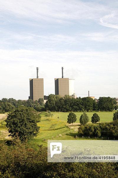 Kraftwerk Huckingen Duisburg  Nordrhein-Westfalen  Deutschland Kraftwerk Huckingen Duisburg, Nordrhein-Westfalen, Deutschland