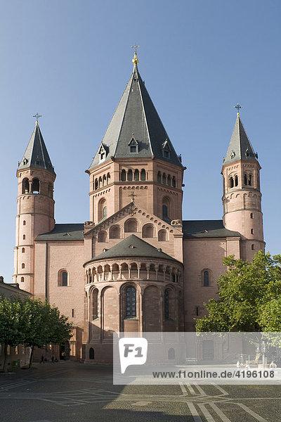 Cathedral of Mainz  Rhineland-Palatinate  Germany