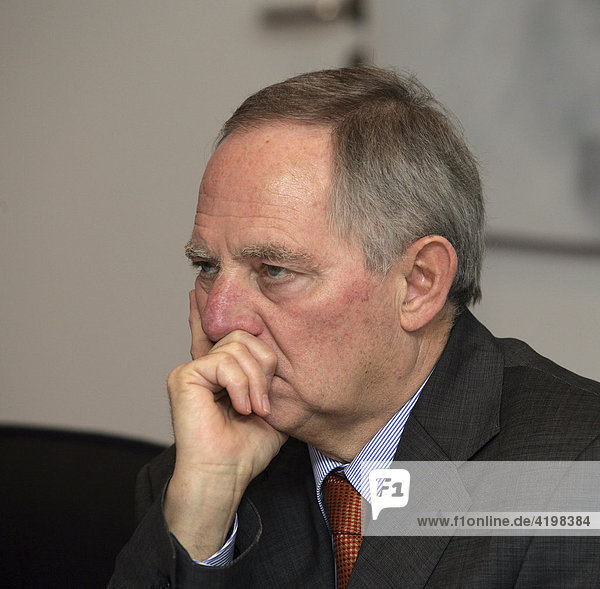 Wolfgang Schaeuble (CDU)  Federal Minister of the Interior  Germany