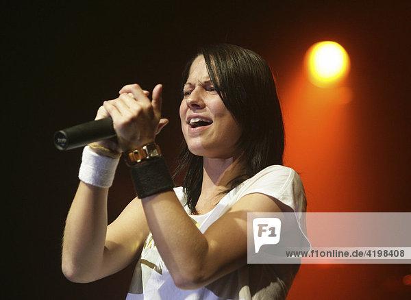 Austrian Rock singer Christina Stuermer