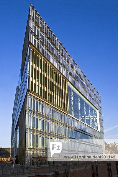 Bürogebäude Deichtorcenter an der Willy-Brandt-Strasse in der Hamburger Innenstadt  Hamburg  Deutschland  Europa