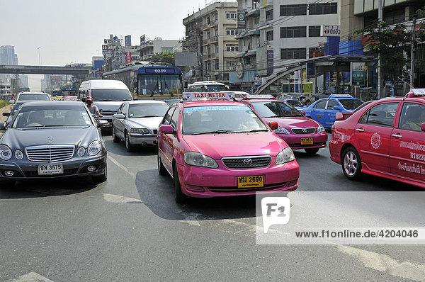 Taxi  Bangkok  Thailand  Asien