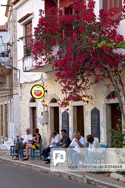 Taverne  Kardamili  Peloponnes  Griechenland Taverne, Kardamili, Peloponnes, Griechenland