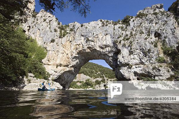 Pont d'Arc  Arde?che  Zentralmassiv  Frankreich