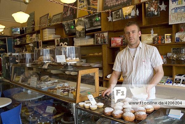 Monarch Cake Shop  älteste Bäckerei in St. Kilda  Acland Street  Melbourne  Bundesstaat Victoria  Australien