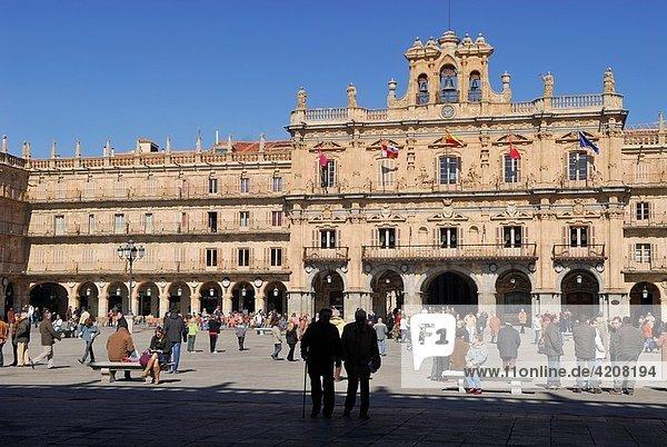 Main Square. Salamanca. Spain