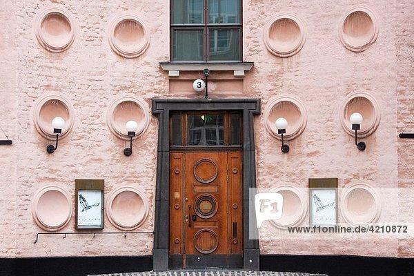 Finland  Helsinki  Helsinki Taide Halli  art museum  exterior
