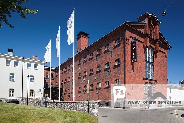 Finland  Helsinki  Katajanokka Island  Hotel Katajanokka  hotel in former prison