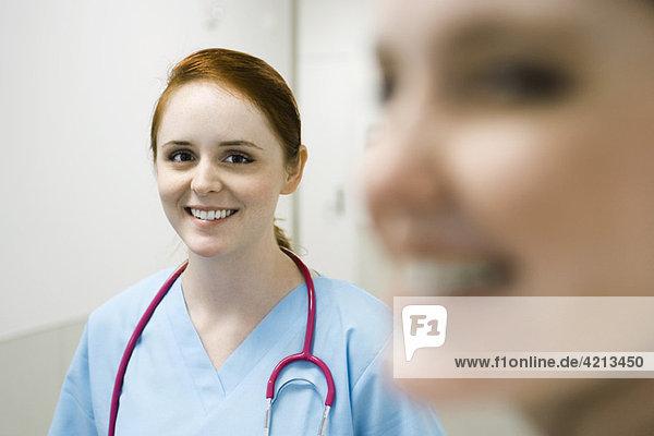 Krankenschwester  Portrait