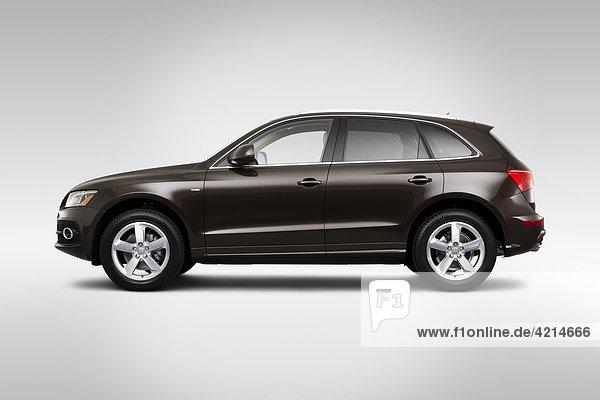 Profil Profile fahren Audi Seitenansicht 2 3 braun