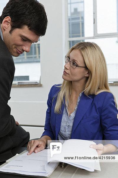Überprüfung eines Kundenprospektes