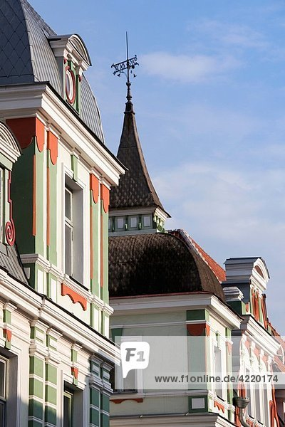 Estonia  Tallinn  Old Town  Estonian Filmmakers Union building  Uus Street