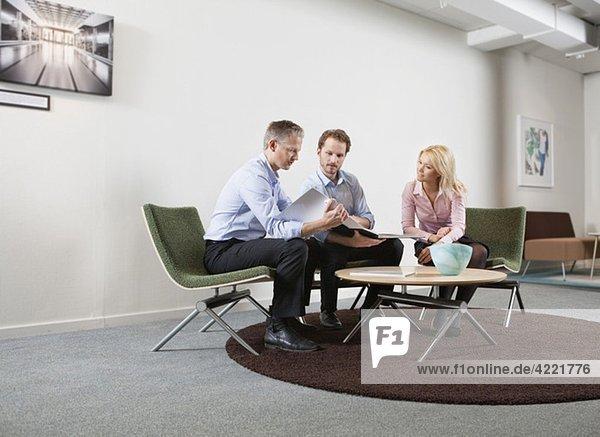Konversation am Arbeitsplatz