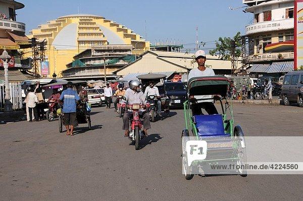 fahren  Fahrrad  Rad  Rikscha