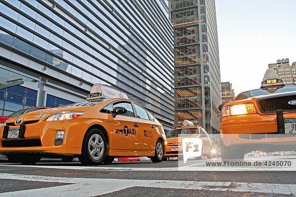 taxis  New York  USA