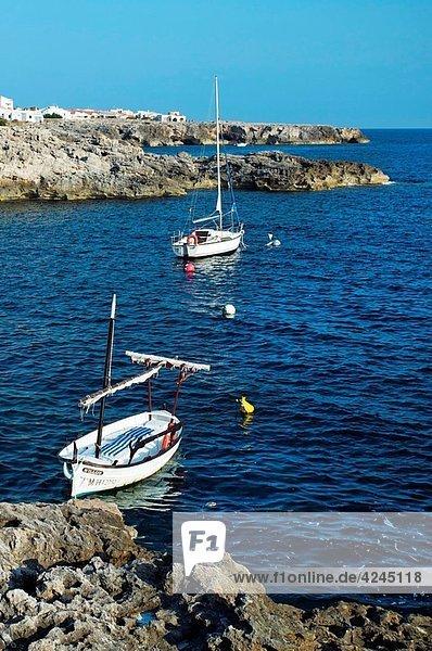 Binibeca Vell. Minorca. Balearic Islands. Spain.