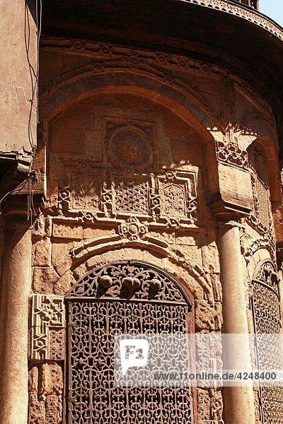 al-Sukariyya  Nafisa al-Bayda Sabil  Wakala-Sabil-Kuttab   Bab Zuwayla streer Islamic quarter  Cairo  Egypt.
