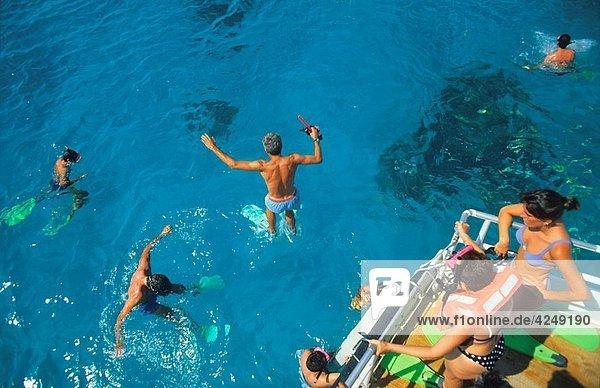 Snorkeling in Cayo Largo Cuba