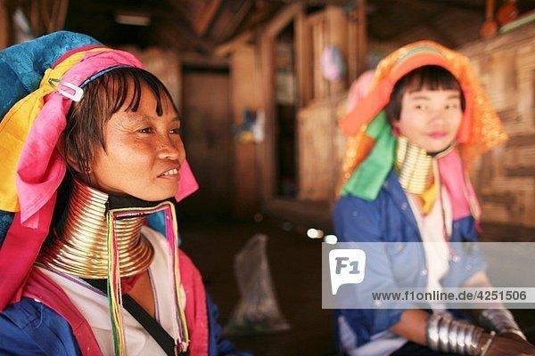 Karen tribe longneck in Thailand