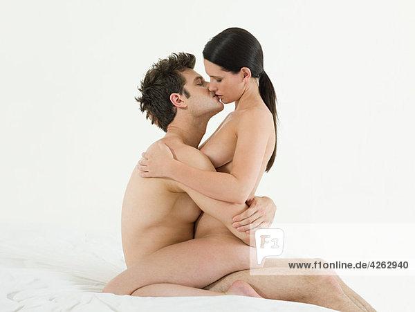 Sex junges paar