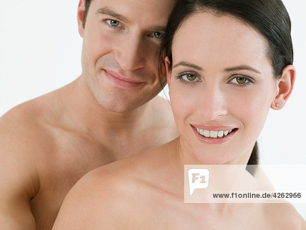 Nacktes Paar