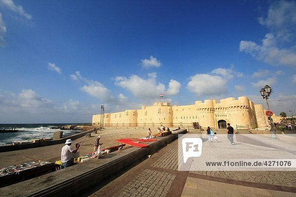 Fort of Qaitbay  Alexandria  Egypt