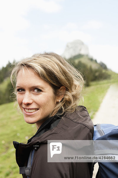 Wanderfrau Porträt