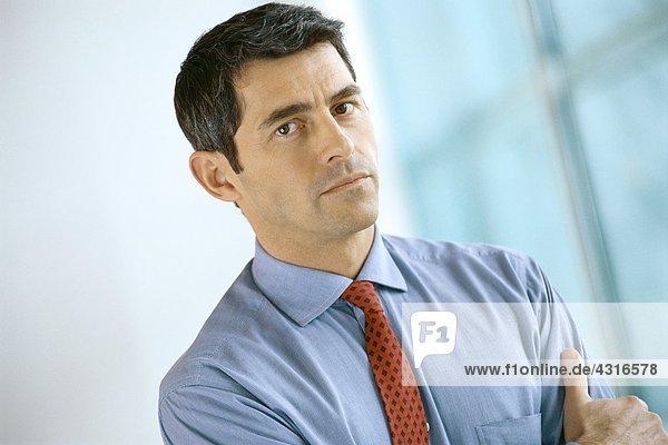 Geschäftsmann  Porträt