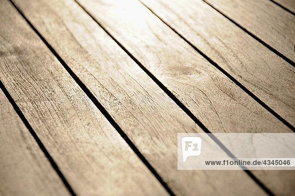 Holzboden  Nahaufnahme