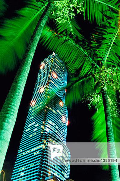 Miami Tower  Miami downtown  Fl  USA