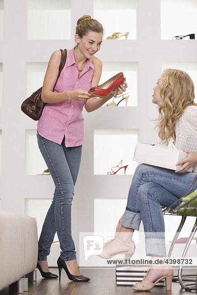 Schuh  Laden  Mädchen