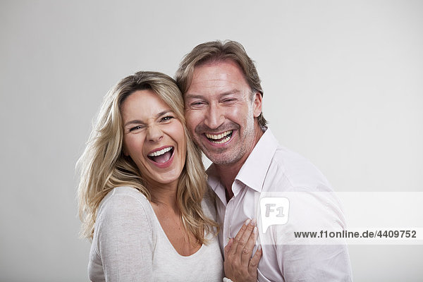 Paar lächelnd  Portrait