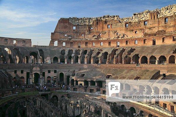Rom  Hauptstadt  Kolosseum  Italien