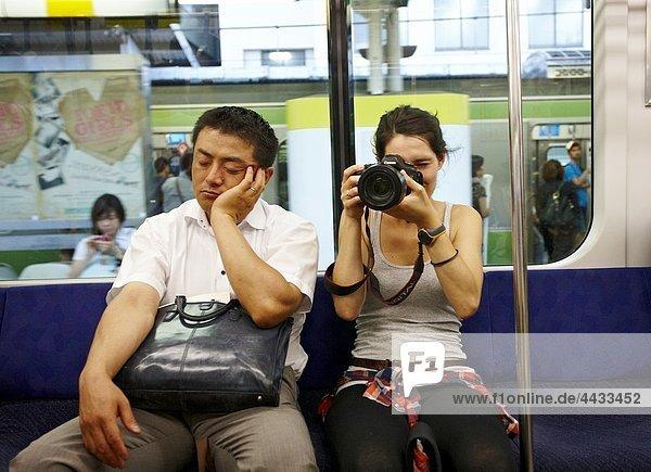 Subway  Tokyo  Japan.