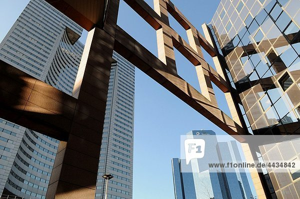 Paris Hauptstadt Frankreich Gebäude Business