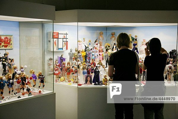Toy museum Barby collection at Hradcany the castle district  Prague  Czech Republic