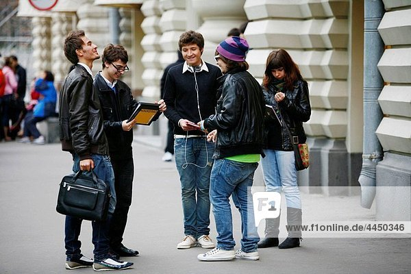 Sep 2008 - Group of young people  Moscow  Russia