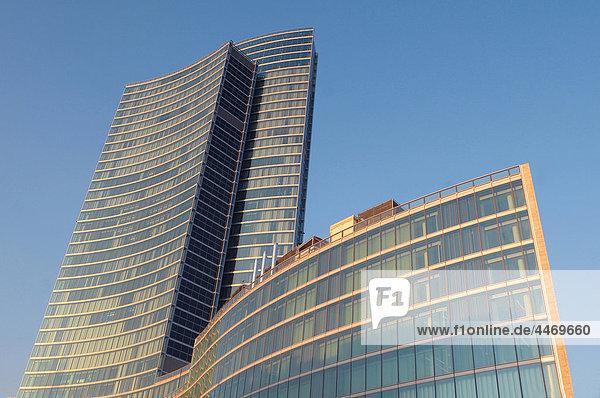 Italien  Lombardei  Mailand  Neubau der Region Lombardei