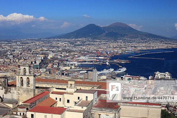 Italy  Campania  Vesuvius volcano