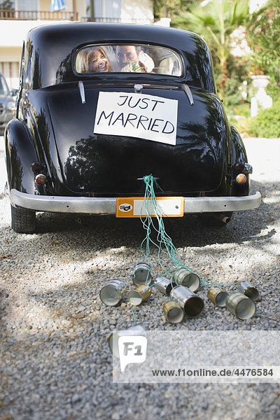 'Car ''Just Married'''