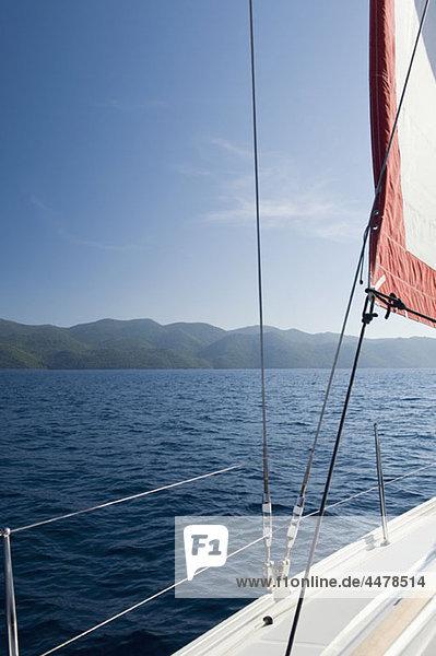 Blick von der Yacht