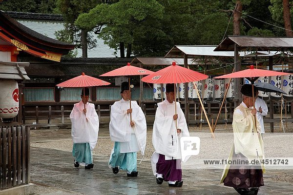 Yasaka Jinja Shrine  Gion  Kyoto  Japan.